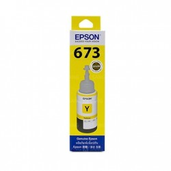 Botella De Tinta Epson 673 Amarillo T673420 L800 L805