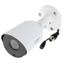 Camara Dahua Tipo Bala 2MP DH-HAC-HFW1200TN 1080P 3.6mm Metal Blanca