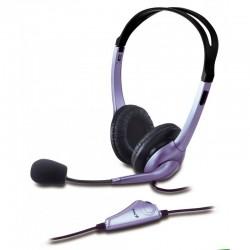 Diadema Audifono Genius Hs-04s Con Microfono 3.5mm Stereo
