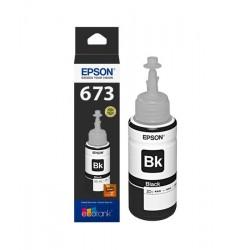 Botella De Tinta Epson 673 Negro T673120 70ml L800 L810 L850 L1800