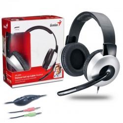 Diadema Genius Hs-05A Con Microfono 3.5mm Negro 2 Plugs