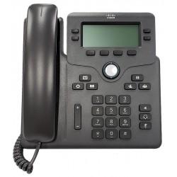 Telefono IP Cisco 6851 Multiplataforma Gris 4 Lineas