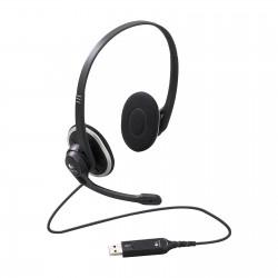 Diadema Logitech H340 USB Estereo Digital Microfono Negro