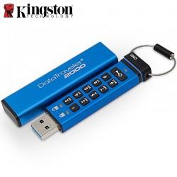 Memoria USB 3.1 Kingston 16GB Encriptada Teclado Alfanumerico DataTraveler DT2000/16GB