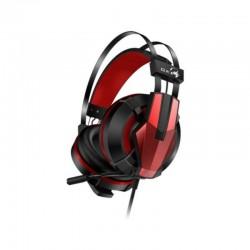 Diadema Genius HS-G710V Gamer USB Con Microfono Negro Rojo