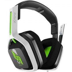 Diadema Logitech Astro A20 Gaming Inalambrica Microfono Blanca Verde