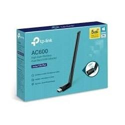 Adaptador USB Tp-Link Archer T2U Plus Inalambrico Doble Banda AC600