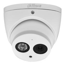 Camara Dahua Domo 4MP 2.8mm 4 en 1 CVI TVI AHD CVBS Audio Microfono IP67