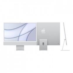 iMac 24 Retina 4,5K Chip M1 Apple CPU 8núcleos yGPU 7 nucleos/ SDD256GB/ memoria unificada 8GB - Plata
