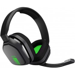 Diadema Logitech Astro A10 Gaming Alambrica 3.5mm USB Microfono Negra Verde
