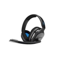 Diadema Logitech Astro A10 Gaming Alambrica 3.5mm USB Microfono Negra Azul