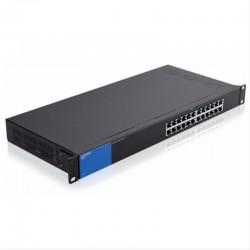 Switch Linksys 24 Puertos Gigabit SE3024 No Administrable