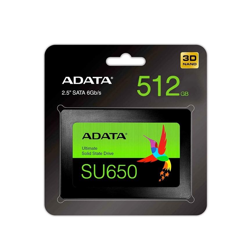 Disco Solido Ssd Interno Adata Su650 512Gb Sata