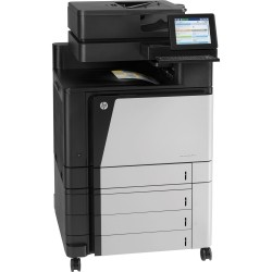 HP Color LaserJet MultifuncionalColorLaserJet Enterprise Flow M880z 46 ppm - Duplex-Fax - Red - USB - Imagen 3