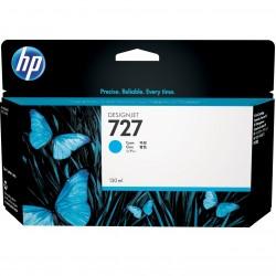 CARTUCHO HP CYAN # 727  Designjet T920 T1500 T250000 130 ml - Imagen 1