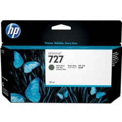 CARTUCHO HP MATTE BLACK  # 727  Designjet T920 T1500 T250000 130 ml - Imagen 1
