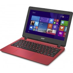 "Portatil acer(Red)ES1-131-C7AZ/Intel CELERON 3050, 6ta Generacion, 11,6"" HD,  LED, Delgada, 4GB/500G"