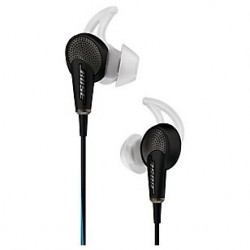 Audifonos QuietComfort® 20 Acoustic Noise Cancelling® / Color: Negro /  Incluye control de volumen /