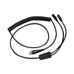 Cable: Kbw. Black. 2.9M (9.5'). Coiled. 5V External Power - Imagen 1